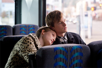 Mia Wasikowska and Henry Hopper in Restless