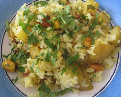 Our amazing Poha recipe