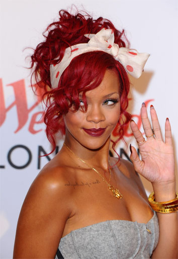 <b>Has RiRi got the X F...</b>