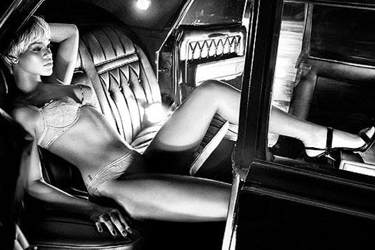Rihanna for Armani