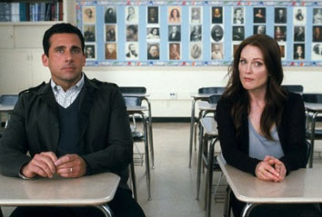 Steve Carell and Julianne Moore in Crazy, Stupid, Love
