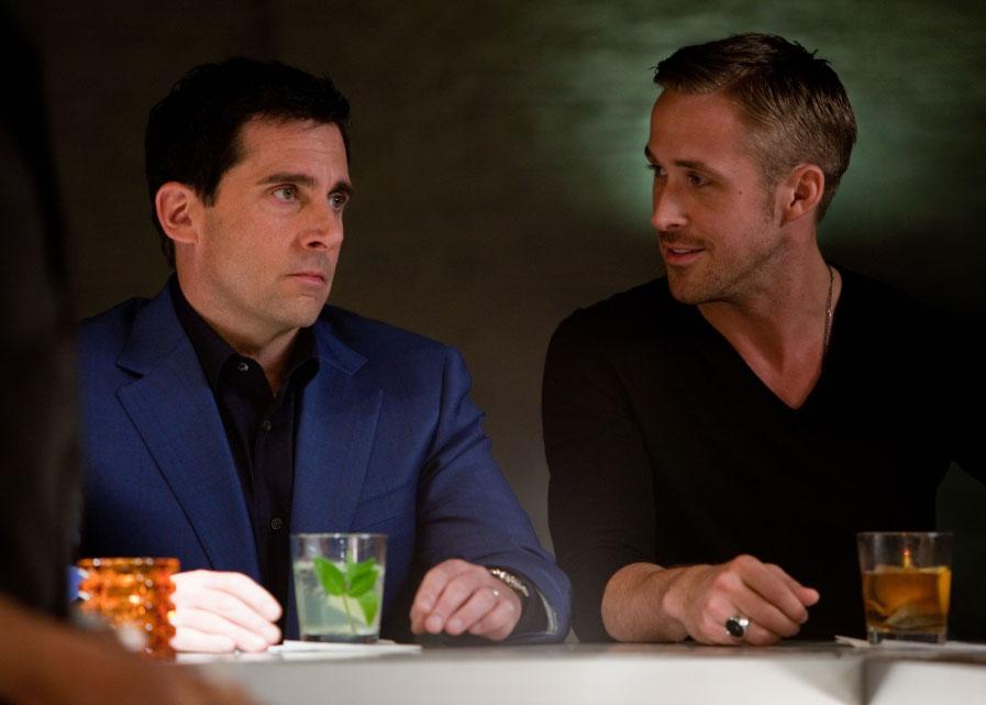 Steve Carrell with Ryan Gosling