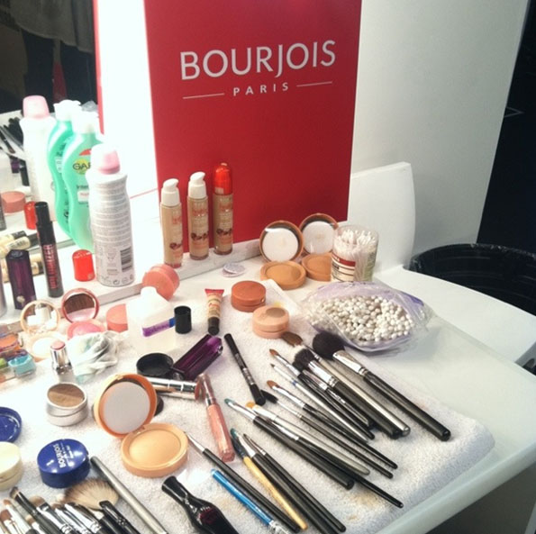 The Bourjois kit at Paul Costelloe SS12