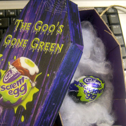 <b>The Goo's Gone Green...</b>
