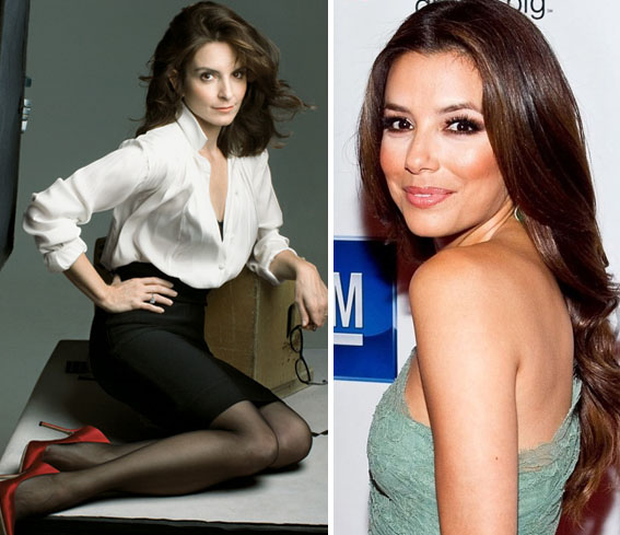 Tina Fey and Eva Longoria