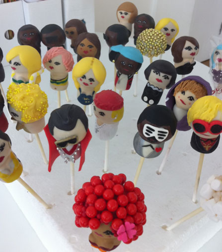 Top of the cake pops - a selection