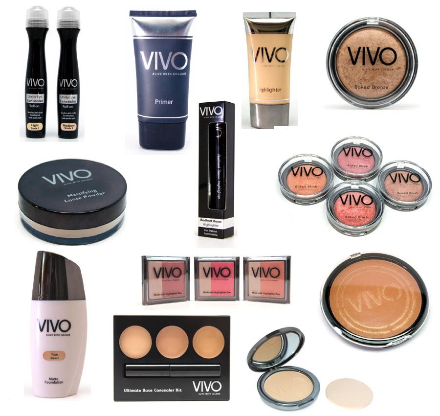 VIVO cosmetics - for the face