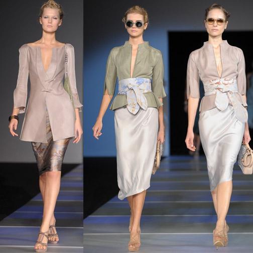 Giorgio Armani's S/S 2012 show