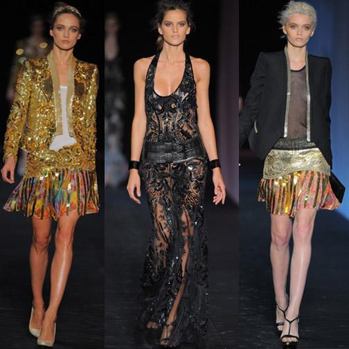 Roberto Cavalli's S/S 2012 show