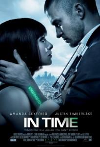 Amanda Seyfried and Justin Timberlake in In Time