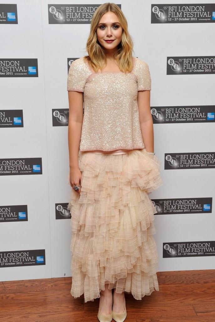 Elisabeth Olsen in Chanel