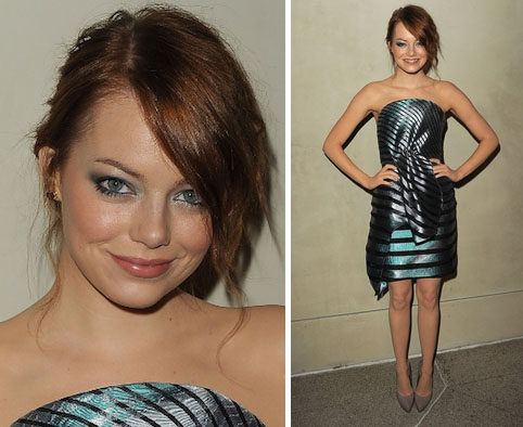 <b>Emma Stone Hosts Arm...</b>
