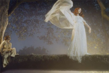 Florence in the video for Shake It Out