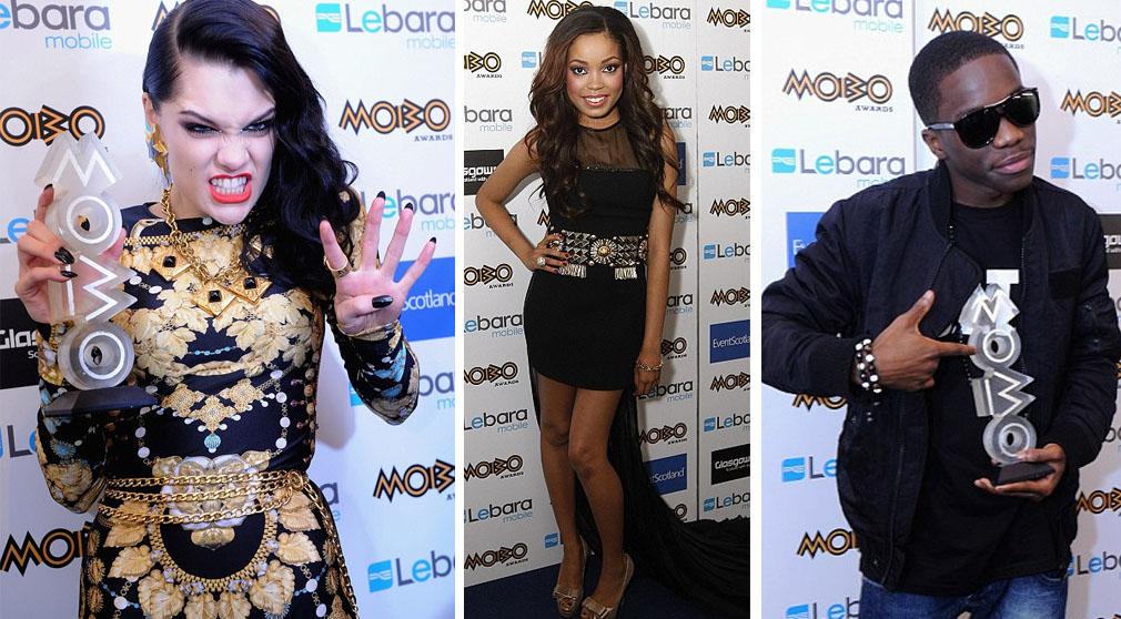 Jessie J, Dionne Bromfield and Tinchy Stryder
