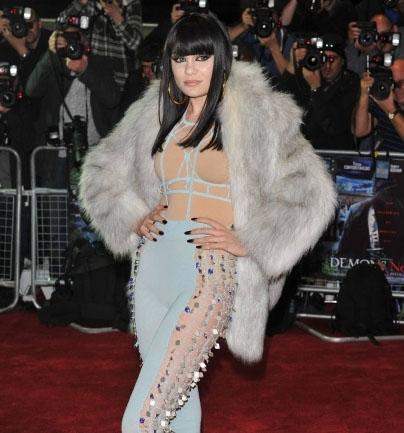 Jessie J at the Demons Never Die premiere