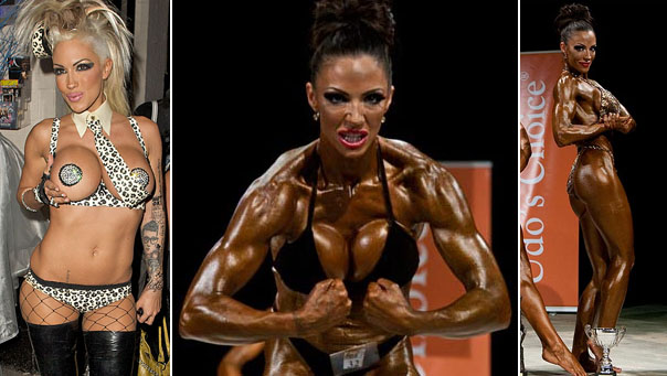 Jodie Marsh before (left) and after (right)