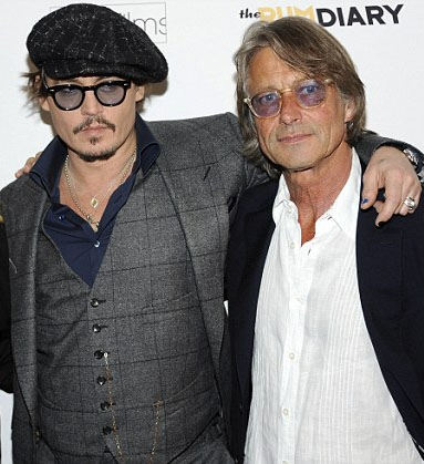 Johnny Depp and Bruce Robinson