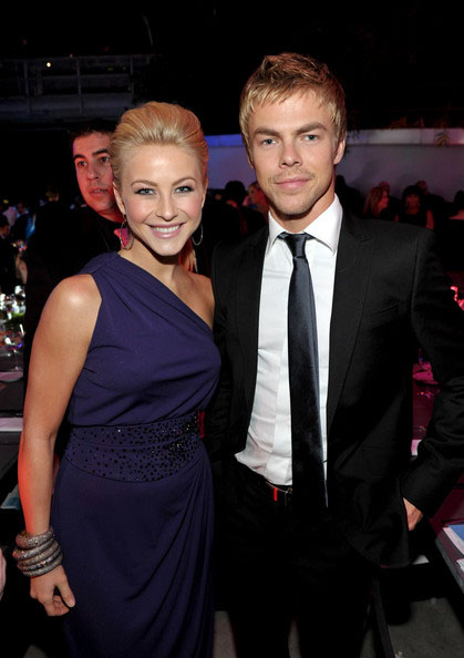 Julianne and her brother Derek Hough