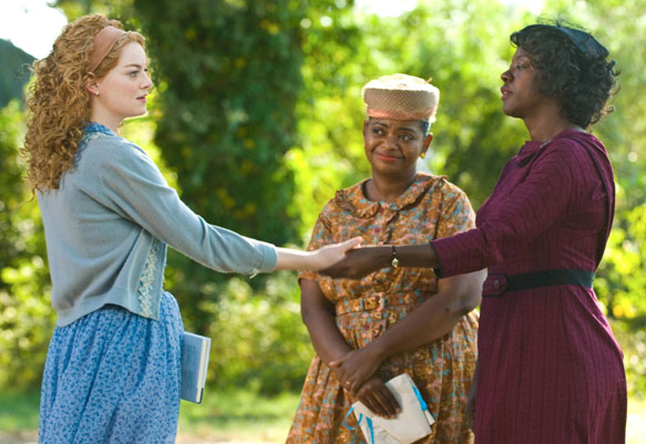 On the set of The Help