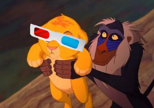 Relive you Lion King memories in 3D...