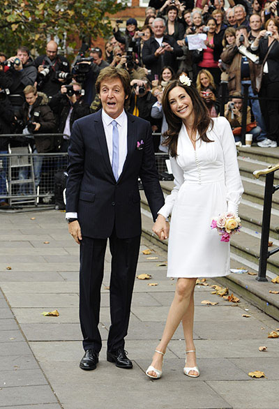 Sir Paul McCartney and Nancy Shevell