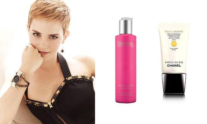 Tanning for fair hair