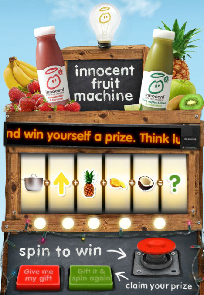 The Innocent Fruit Machine