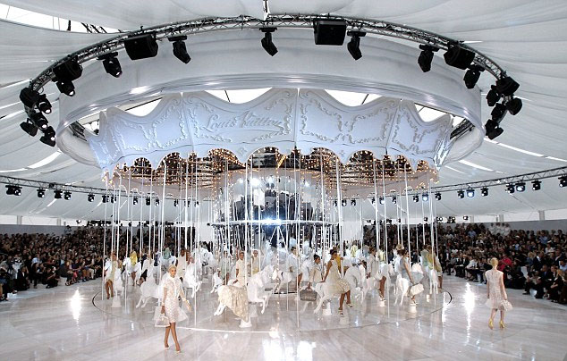The Louis Vuitton carrousel