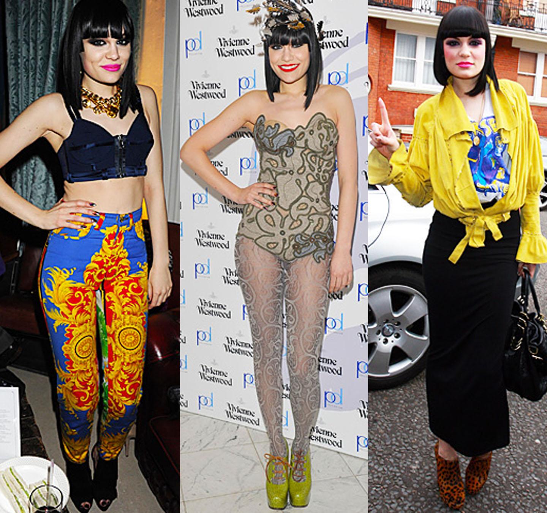 Jessie J rocking vintage style looks
