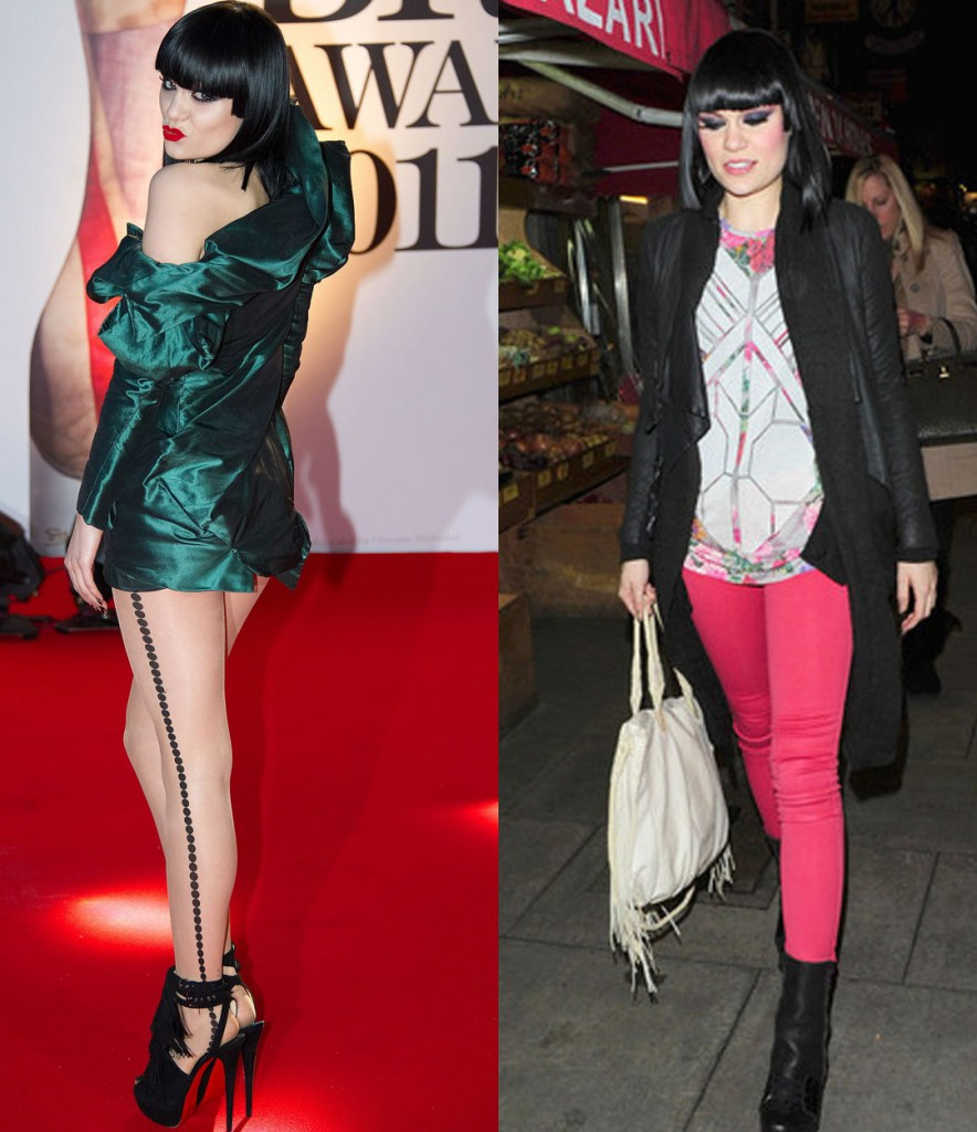Jessie' J's signature item is said to be the highest heels she can find