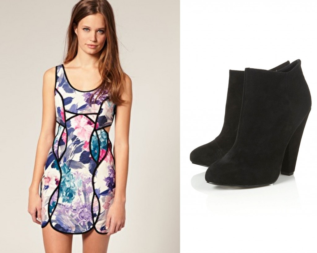 ASOS dress and Topshop heels for less