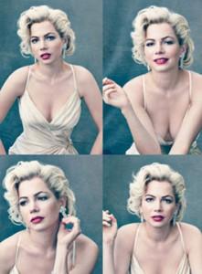 Michelle Williams as Marilyn Monroe in 'My Week with Marilyn'
