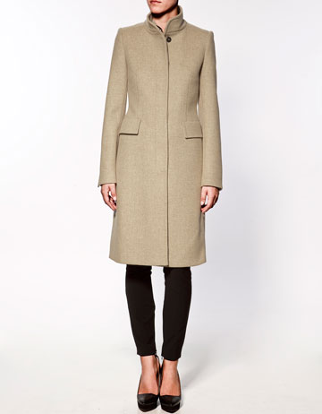 Zara flap pocket coat for £117.00