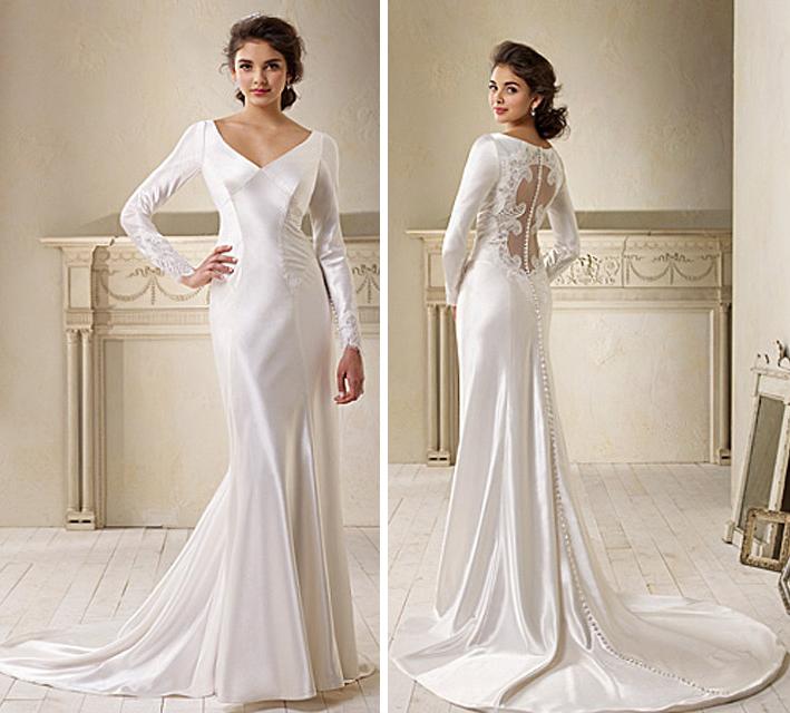 Alfred Angelo's twilight wedding dress
