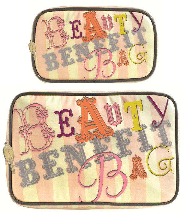Benefit's Beauty Bags