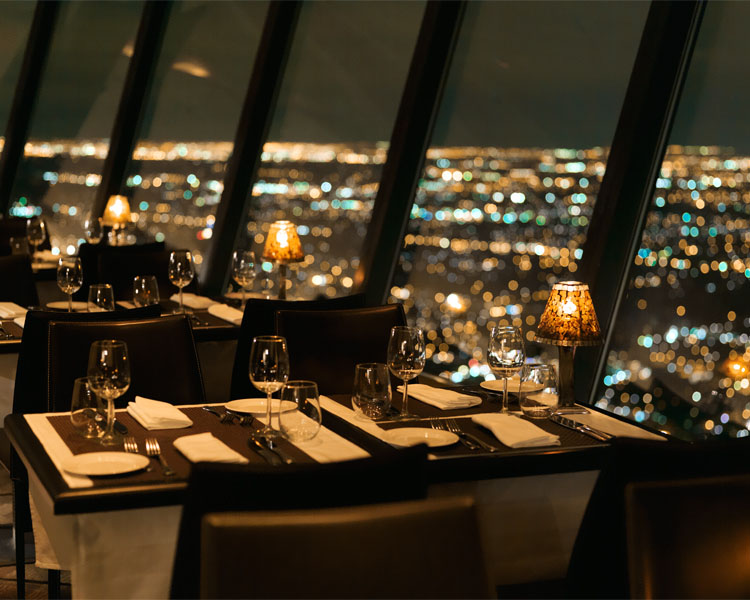 360 Restaurant in the CN Tower
