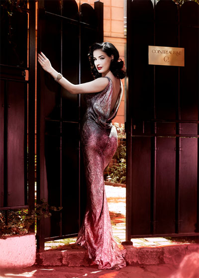 Dita Von Teese for Cointreau