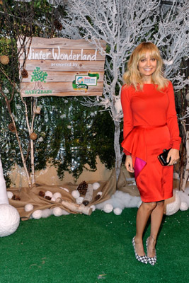 Nicole Richie in Stella McCartney SS12 look