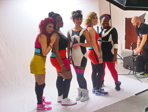 The Boxettes photoshoot