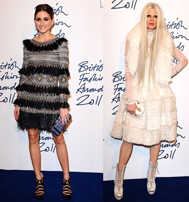 Style Star Olivia Palermo and Model Kristen McMenamy
