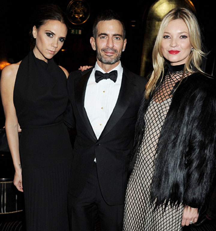 British Fashion Awards royalty Victoria Beckham, Marc Jacobs and Kate Moss