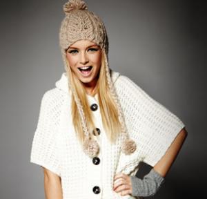Warm knitwear for winter looks