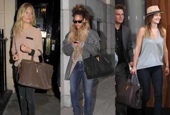Sienna Miller, Rihanna and Leighton Meester love the YSL Cabas Chyc handbag