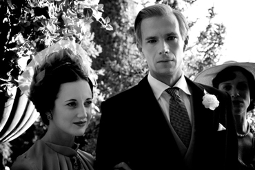 Andrea Riseborough and James D'Arcy in W.E.