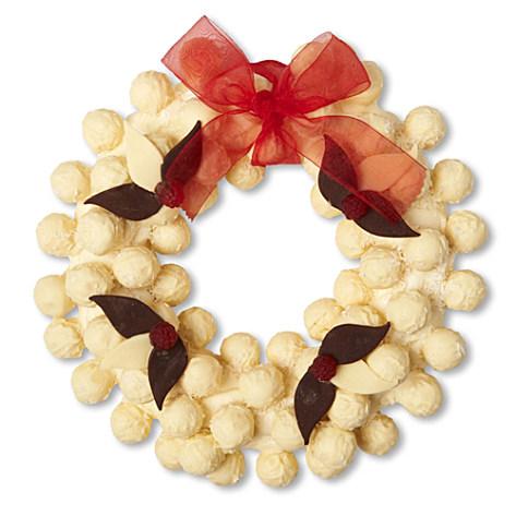 Coconut Truffle Wreath