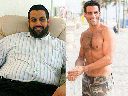 Eli Sapharti - before and after