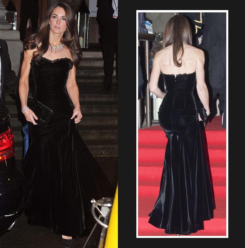 <b>Kate Wears McQueen F...</b>