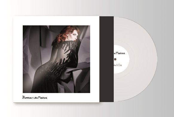 Limited edition Florence & The Machine single for No Light, No Light