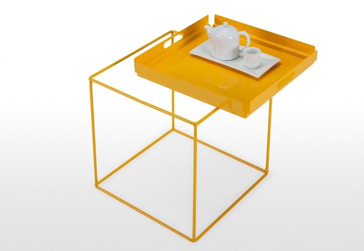 Mondrian Tray Table in Yellow