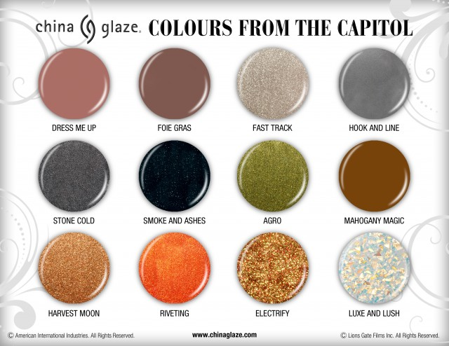 colours from the capitol